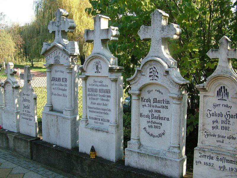 Sváb temetőben