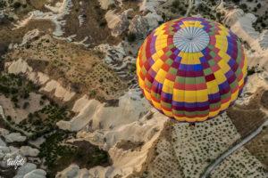 Hőlégballonnal Kappadókia felett