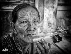 Kambodzsai nő